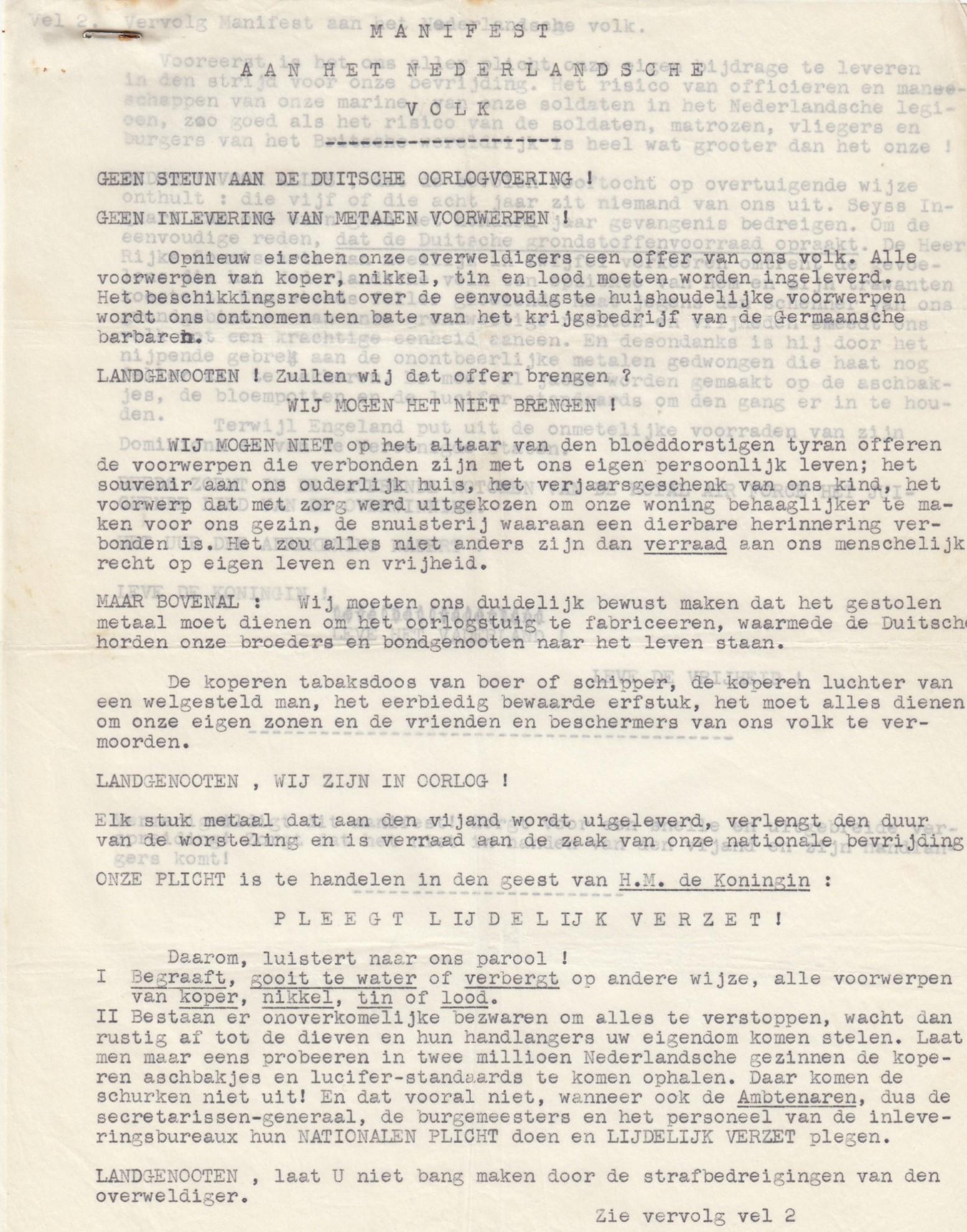 Verzetsdocumenten (67)