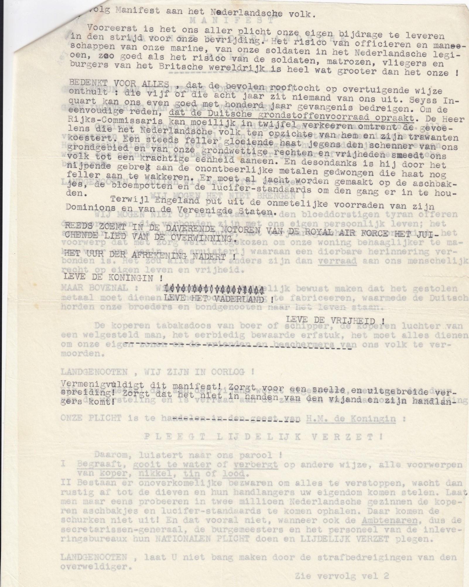 Verzetsdocumenten (68)
